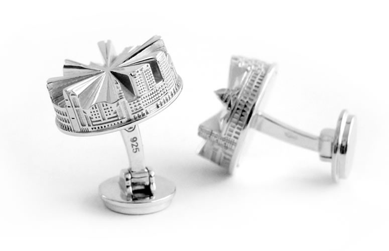 our collection hong kong city cufflinks