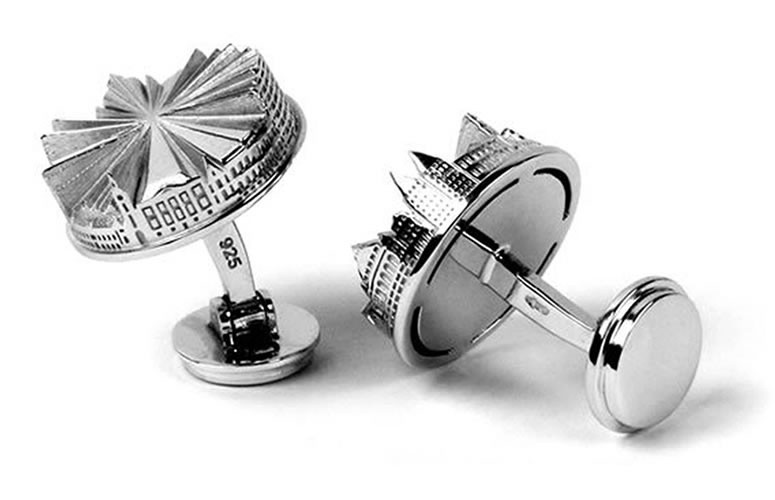 our collection the hague city cufflinks